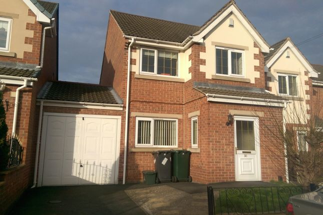 Thumbnail Detached house to rent in Pastures Mews, Mexborough