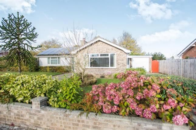 Thumbnail Bungalow for sale in North Walsham, Norfolk
