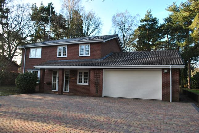 Thumbnail Detached house to rent in Heathwood Road, Higher Heath, Whitchurch, Shropshire
