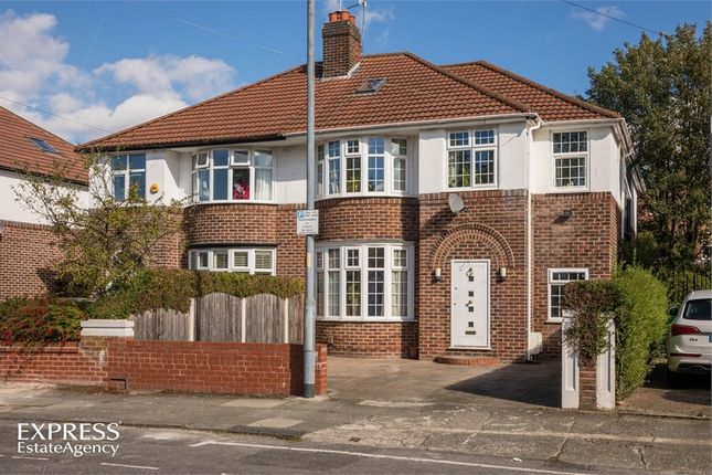 Thumbnail Semi-detached house for sale in Parkville Road, Withington, Manchester