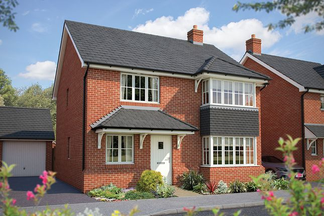"Thumbnail Detached house for sale in ""The Canterbury"" at Maddoxford Lane, Botley, Southampton"