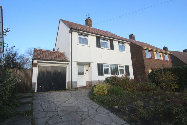 Thumbnail Detached house for sale in Roffrey Avenue, West Hampden Park, Eastbourne