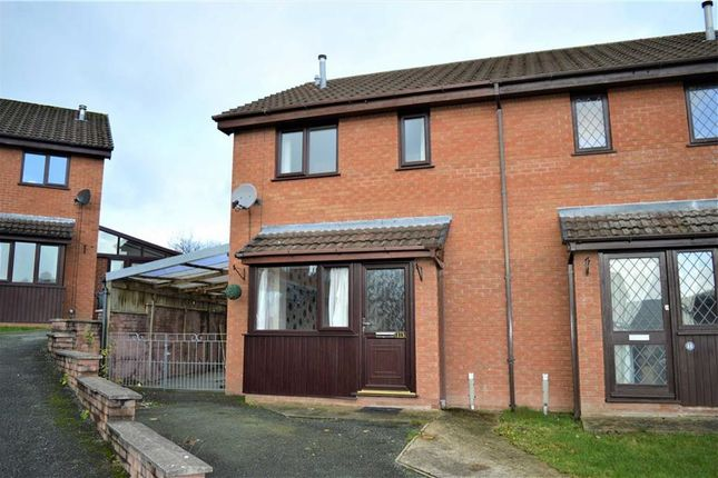 Thumbnail Semi-detached house to rent in 13, Hawthorn Close, Barnfields, Newtown, Powys
