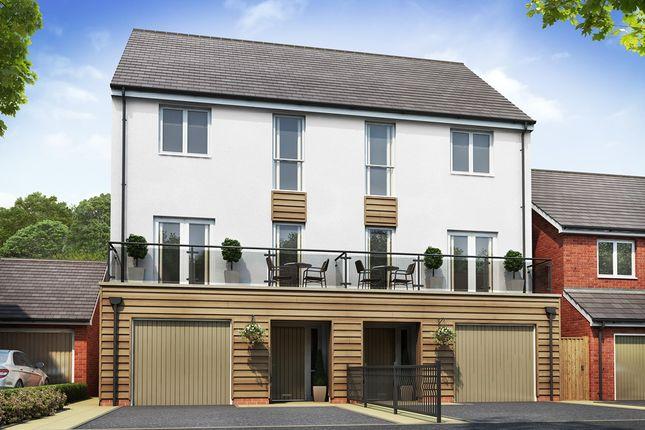 Thumbnail Semi-detached house for sale in Plot 66 Weogoran Park, Whittington Road, Worcester