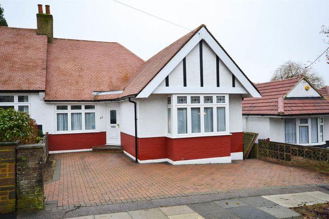 Thumbnail Semi-detached bungalow for sale in Milton Avenue, Barnet