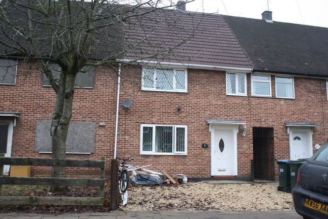 Thumbnail Terraced house to rent in John Rous Ave, Canley, Coventry