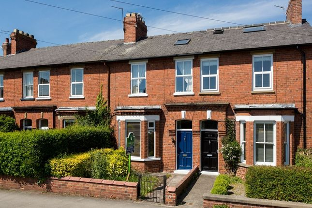 Thumbnail Terraced house for sale in The Village, Strensall, York