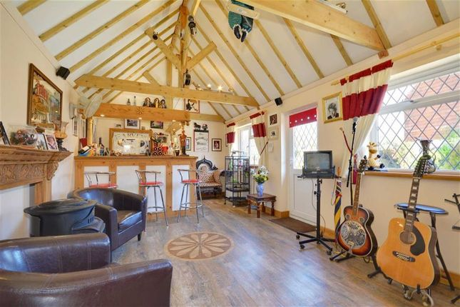 Thumbnail Detached house for sale in Hempstead Lane, Hailsham