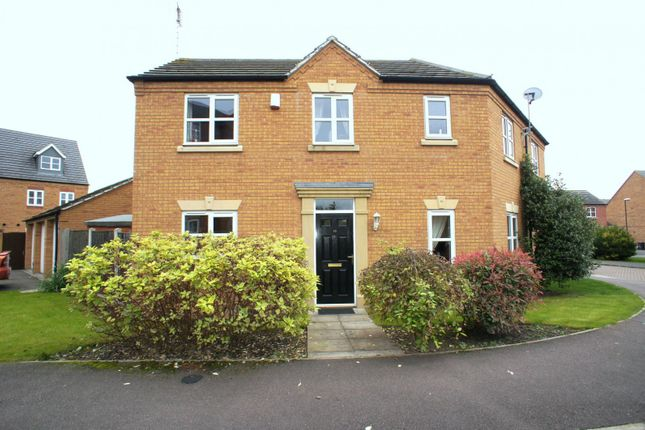 Thumbnail Semi-detached house to rent in Channel Crescent, City Point, Derby