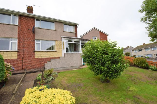 Thumbnail Semi-detached house for sale in Radnor Green, Barry