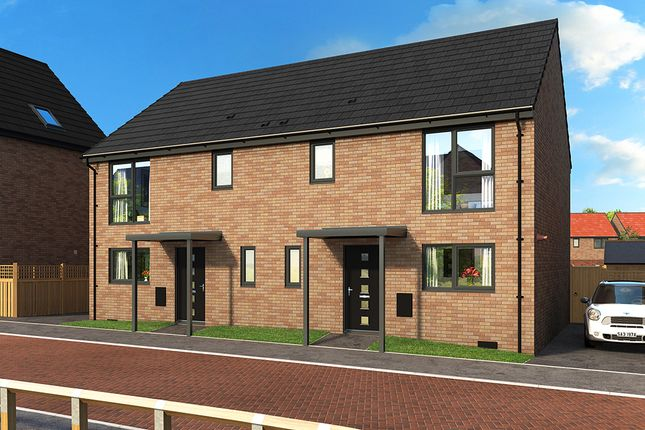 "Thumbnail Property for sale in ""The Blossom"" at Campsall Road, Askern, Doncaster"