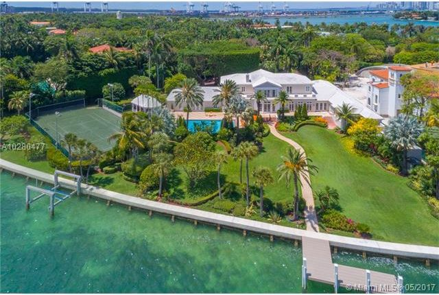 Thumbnail Property for sale in 23 Star Island Dr, Miami Beach, Fl, 33139