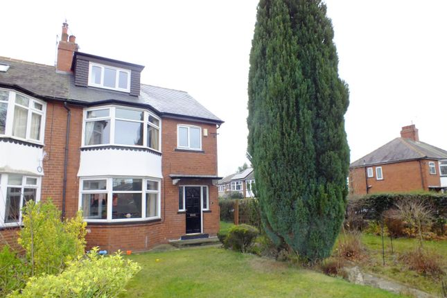 Thumbnail Semi-detached house to rent in The Drive, Roundhay, Leeds