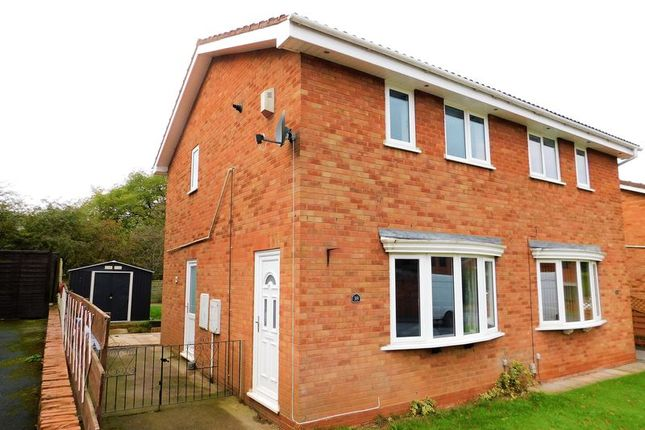 2 bed semi-detached house for sale in Carisbrooke Drive, Western Downs, Stafford