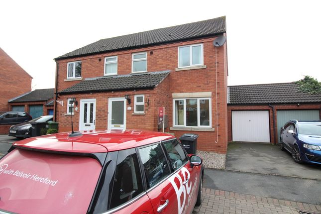 Thumbnail Semi-detached house to rent in Farringdon Avenue, Belmont, Hereford