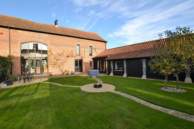 Thumbnail Barn conversion for sale in Norwich Road, Mulbarton, Norwich, Norfolk.