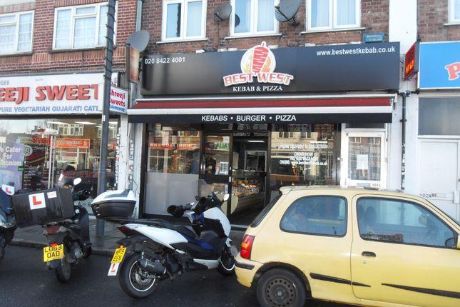 Thumbnail Restaurant/cafe to let in Northolt Road, South Harrow, Harrow