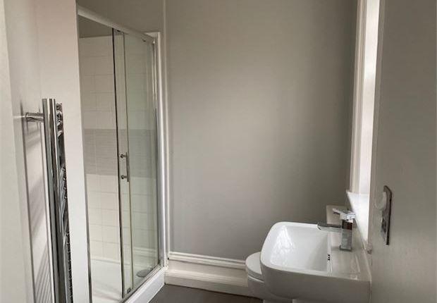 Shower Room of 1 Market Place Apartments, Newark, Nottinghamshire. NG24