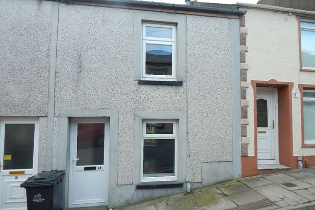 Thumbnail Terraced house to rent in Glamorgan Street, Brynmawr, Ebbw Vale