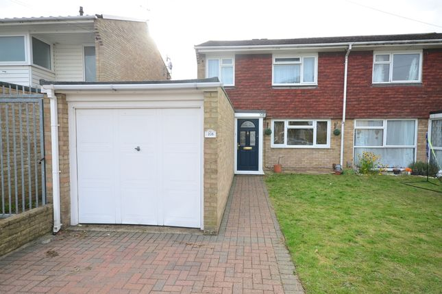 3 bed semi-detached house to rent in Hawbeck Road, Rainham, Gillingham ME8