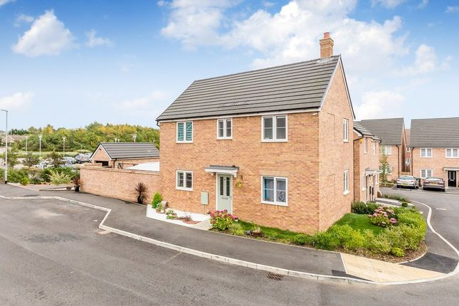 Thumbnail Detached house for sale in Alnwick Close, Rushden