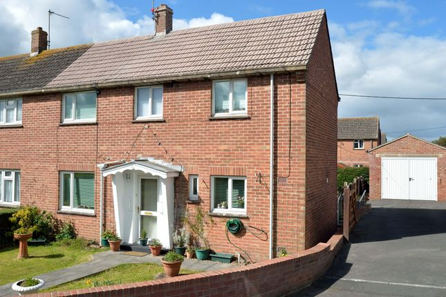 Thumbnail Semi-detached house for sale in 22 Hill View, Bishops Caundle, Sherborne, Dorset