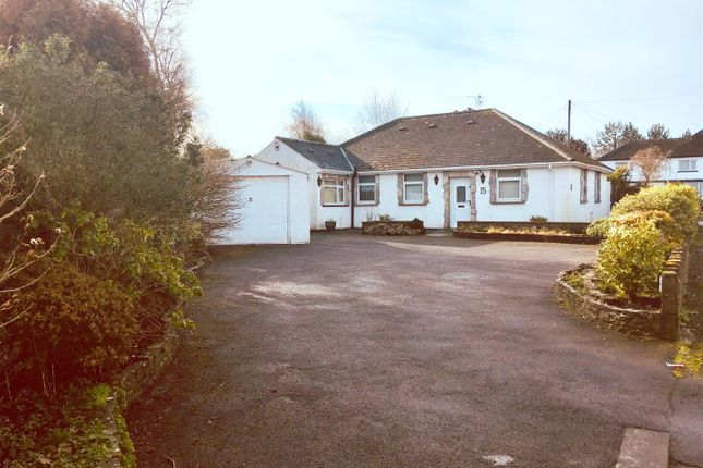 Thumbnail Detached bungalow for sale in Dyffryn Place, Barry