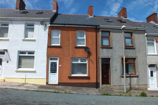 Thumbnail Terraced house for sale in Gwili Road, Hakin, Milford Haven
