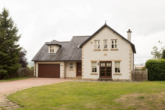 Thumbnail Detached house to rent in Druids Park, Murthly, Perthshire