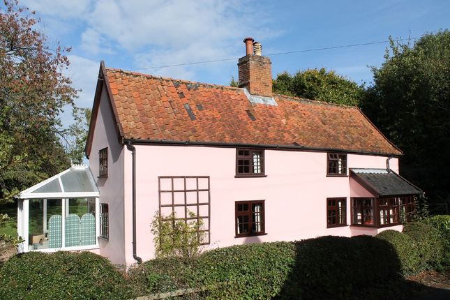 Thumbnail Detached house for sale in Hoxne Road, Syleham, Eye