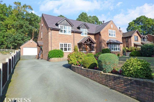 Thumbnail Detached house for sale in Knockin Heath, Knockin Heath, Oswestry, Shropshire