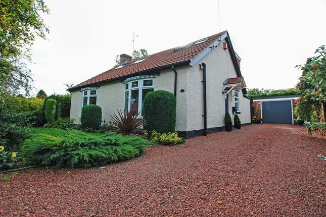 Thumbnail 4 bed detached bungalow for sale in Charles Avenue, Fawdon, Newcastle Upon Tyne