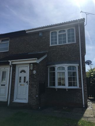Thumbnail Semi-detached house to rent in Stirling Drive, Bedlington