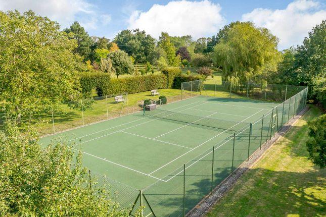 Tennis Court of Nettlestead, Ipswich, Suffolk IP8
