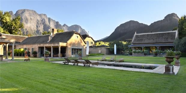 Thumbnail Farmhouse for sale in Burgundy Bourgogne, Franschhoek, Western Cape, 7690