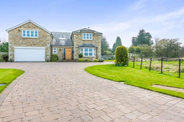 Thumbnail Detached house for sale in Meadow Court, Ponteland, Newcastle Upon Tyne, Northumberland