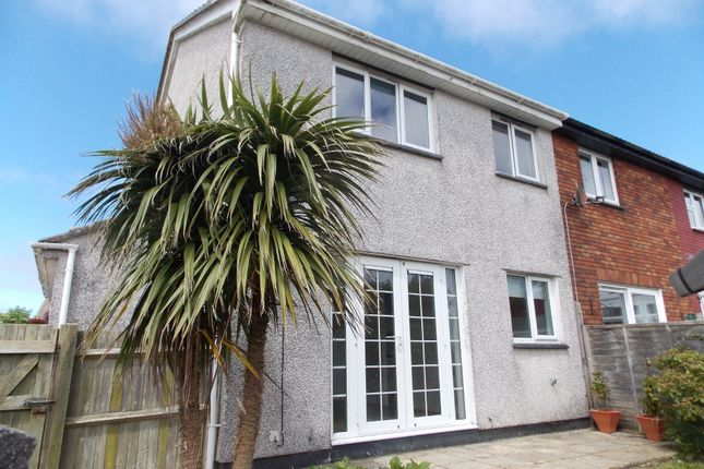 Thumbnail End terrace house for sale in Hawthorn Way, Threemilestone, Truro