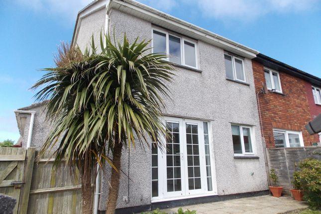Thumbnail End terrace house for sale in Hawthorn Way, Threemilestone, Truro