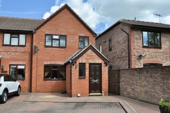 Thumbnail Terraced house for sale in St. Philips Drive, Evesham