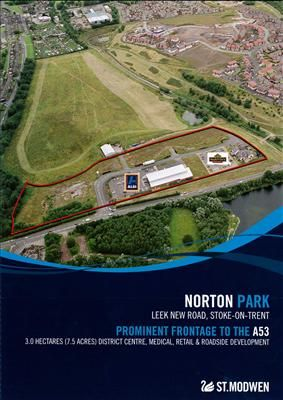 Thumbnail Commercial property for sale in Norton Park, Leek New Road, Norton, Stoke On Trent, Staffs