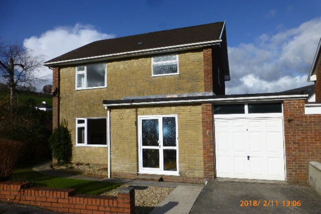 Thumbnail Property to rent in Pantglas Estate, Carmarthen