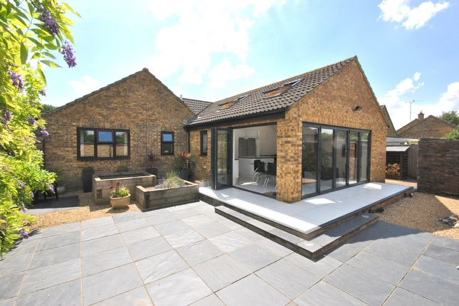 Thumbnail Detached bungalow for sale in Hawthorn Road, Gayton, King's Lynn