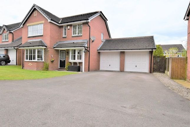 Thumbnail Detached house for sale in Woburn Drive, Mossley, Congleton