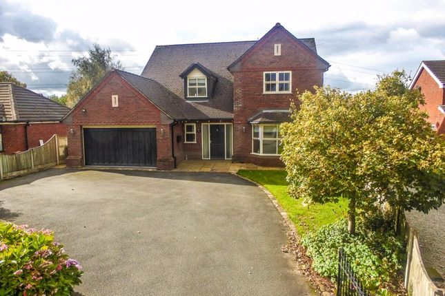 Thumbnail Detached house for sale in Close Lane, Alsager, Stoke-On-Trent