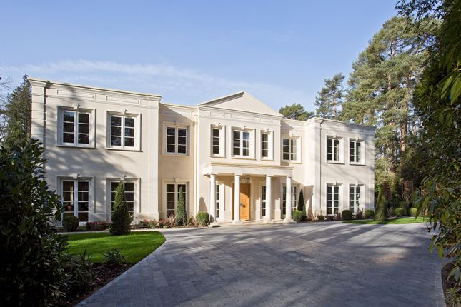 Thumbnail Detached house for sale in Wellington Avenue, Virginia Water, Surrey