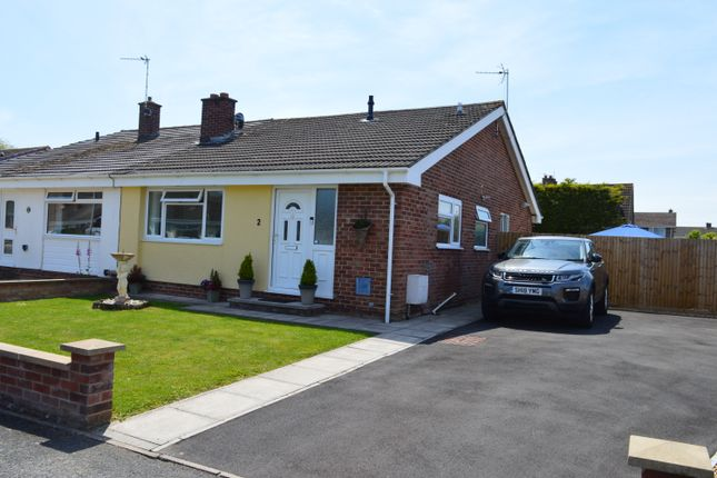Thumbnail Semi-detached bungalow for sale in Cormorant Close, Weston-Super-Mare