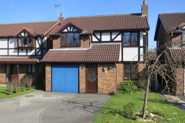 Thumbnail Detached house for sale in Stewarton Close, Arnold, Nottingham