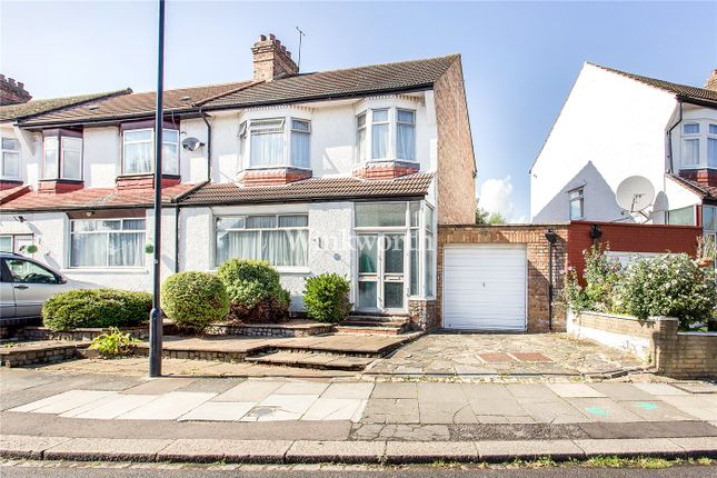 Thumbnail End terrace house for sale in Chimes Avenue, London