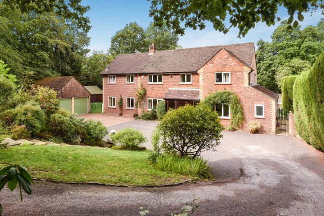 Thumbnail Detached house for sale in Church Lane, Ewshot, Farnham, Surrey