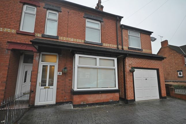 Thumbnail Semi-detached house to rent in Outwoods Street, Burton-On-Trent